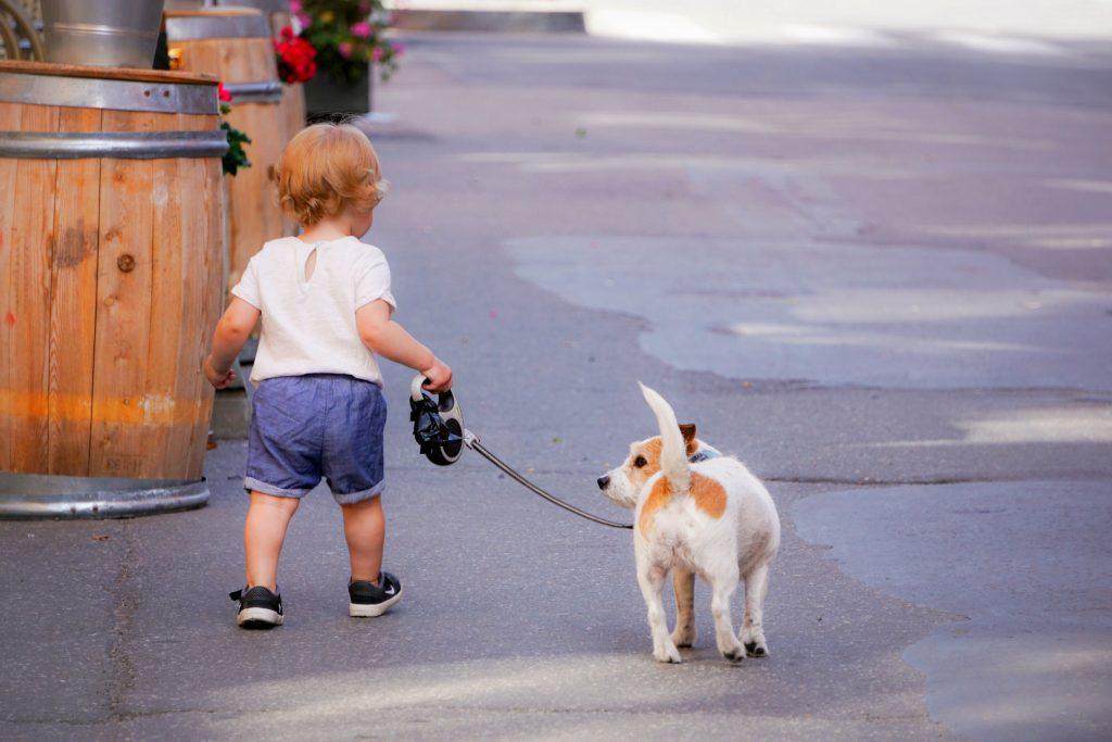 Dieťa a pes
