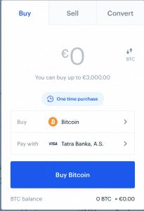 Nákup Bitcoinov